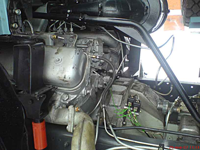 Двигатель ямз 238 на камаз своими руками 44